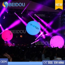 LED Touchable Publicidad globos llenos inflables Zygote Interactive Balls