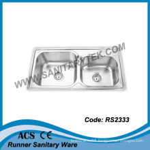 Stainless Steel Kitchen Sink (RS2333)