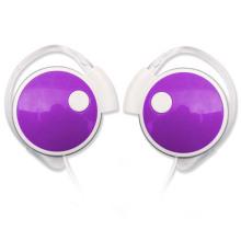 Novo fone de ouvido design Earhook com som estéreo