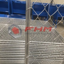 Chain Link Fencing Temporary Fence
