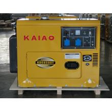 Generador diesel insonorizado de 5kVA 6500T Generador insonorizado de arranque eléctrico