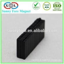 dünner Block Neodym Magnet schwarzen epoxy