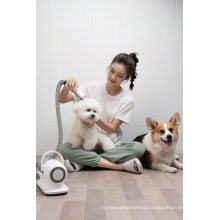 Pet Hair Cutter and Vacuum Cleaner with Groom Kit Brushes Trimmers & Blades