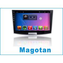Car GPS Tracking System para Magotan con coche DVD / navegación de coche