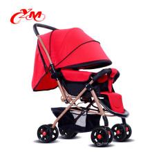 Mutter Kinderwagen Fahrrad, Metall Dreiräder für Kleinkinder, Kleinkind Dreirad mit Schubstange