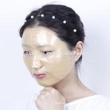 Máscara facial del cordón del oro de OEM / ODM 24K