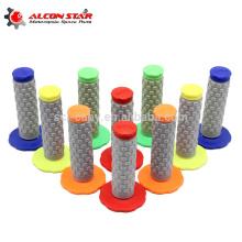 New Fashion Wholesale Colorful Handle Grips Motorcycle Dirt Pit Bike Rubber Handlebar Grips