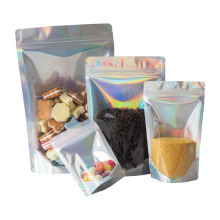 Laminating Films Coffee Snack Nut Food Packaging Bag Zip-Lock Stand up Pouch Plastic Food Packaging Clear Aluminum Bag