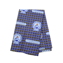 Hot Sell Church Uniform Ghana School Uniform African Wax Printed 100% Cotton Fabrics