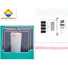 Sobre sistema de panel solar de red (KS-S 5000)