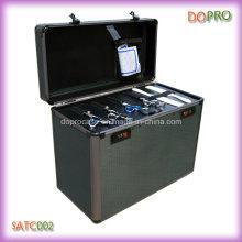 Salons en aluminium de beauté de boîte à outils de capacité élevée (SATC002)