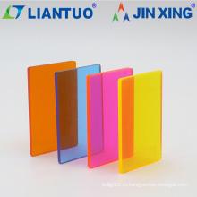 Экструдированные листы PMMA толщиной 0,8-6 мм