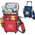 Promotional Custom Imprinted 18-Can Rolling Insulated Cooler Bag