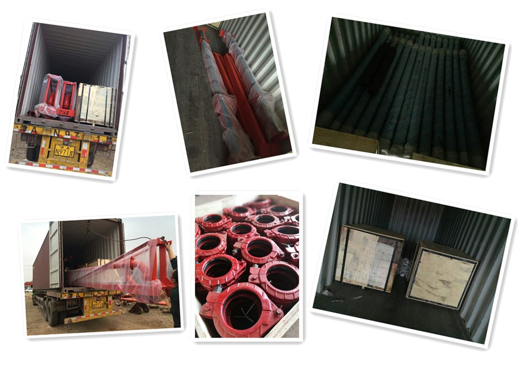 Concrete Pump Parts Loadng