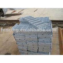 Rostplatte aus Stahl
