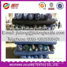 nuevo color Tejido sólido 100% sarga de algodón grueso en weifang
