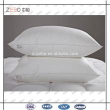 Algodão 233T Down-prova Tecido Microfiber enchimento Cheap Neck Pillows