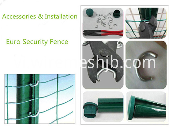 PVC Coated Wire Fence