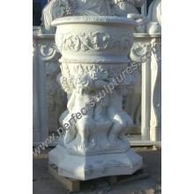Flower Pot for Garden Stone (QFP134A)