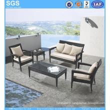 Cheap PE Rattan Sofa Chair Patio Furniture