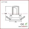 Novo produto 12W LED embutido Downlight com cor branca LC7716D