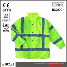 Safety 3m Reflective Life Mens Hivi 3in1 Jacket