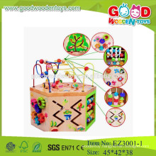kids beads toys educational string beads toys wooden string beads toys
