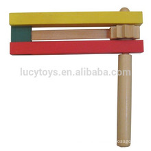 Wooden Instrument Rattle Noise Maker Toy