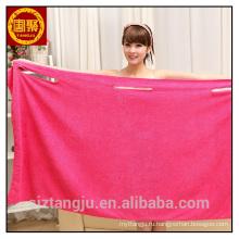 мягкая микрофибра ванна полотенце ванна платье