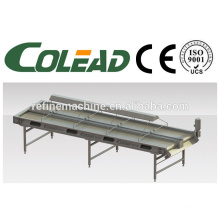 Lamp selecting conveyor/vegetable and fruit selecting conveyor/vegetable and fruit processing machine