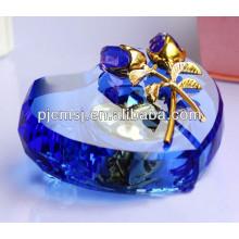 новый продукт мода Кристалл стекло Музыкальная шкатулка