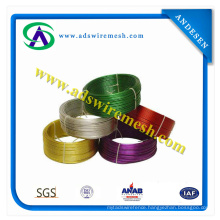 All Colour /PVC Coated Iron Wire for Chain Link Fence