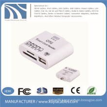 5 in 1 OTG Smart Card Reader Connection Kit for Samsung Tablet PC Support TF/MMC/SD/M2/MS