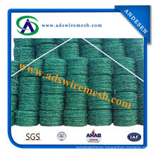 Factory Price PVC Coated Barbed Wire Manufacturer (20 years factory)