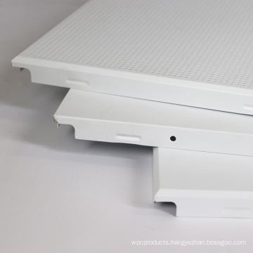 hot sale 600x600 aluminum soundproof clip-in ceiling panel for office