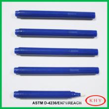 Permanent Invisible UV Marker Pen with blue pen barrel
