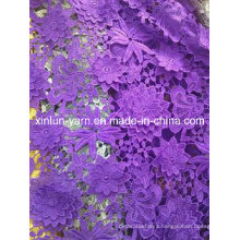 100%Polyester Materials Lace Fabric for Woman Dress