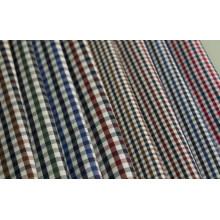 Plusieurs vérifications sergé Polyester tissu de coton 40 60 pour chemises