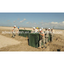 4mm Mil galvanisierte Hesco-Sperre von China