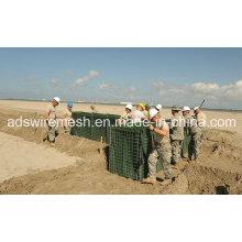 4мм мил Гальванизированный барьер hesco из Китая