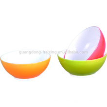 3 PCS Qualified clear salad container large plastic salad bowl