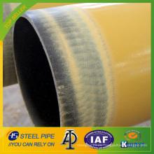 Tubo de acero sin soldadura de aislamiento térmico con alta densidad de PU