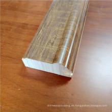 molduras decorativas molduras de madera maciza molduras ornamentales de melamina molduras decorativas de marcos de puertas de madera