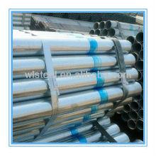 tubo de acero galvanizado para el marco de invernadero