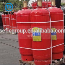 13.4L/20L/40L/47L/50L carbon dioxide CO2 gas cylinder with cap and valve fire extinguisher