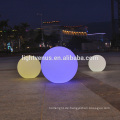 wasserdichte Kabellose Wiederaufladbare Chrismas Kunststoff Kugel Ornament / led leuchten Swimmingpool Kugel