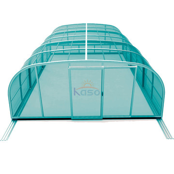 Retractable Aluminium Kit Screened In Inground Pool Gehäuse