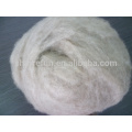 Factory stock supply dehaired Inner Mongolian brown color cashmere fiber