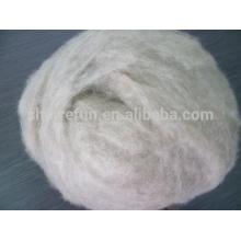Pure fine dehaied brown cashmere fiber