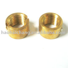 High Precision Brass Metric Round Nuts